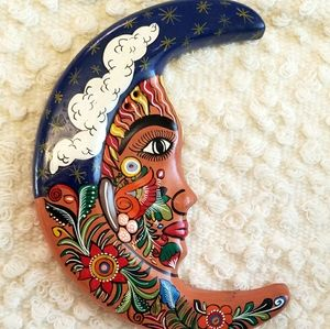Mexican Moon Art
